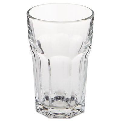 Libbey Gibraltar Glass Tumblers, Beverage, 10 oz, 4