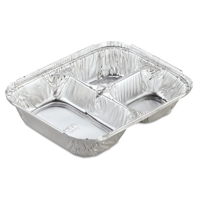 Handi-Foil Aluminum Oblong Container with Lid,