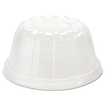 Dart D-T Sundae/Cold Cup Lids, Fits 5-32oz Cups, Clear