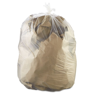 Essex High-Density Can Liners, 38 x 60, 60-Gallon,