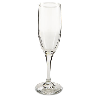 Libbey Embassy Flutes/Coupes & Wine Glasses, Flute, 6oz, 8