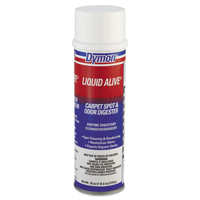 Dymon LIQUID ALIVE Carpet Cleaner/Deodorizer, 20oz,