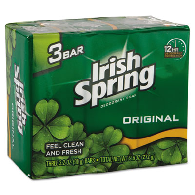Irish Spring Personal Deodorant Soap, 3-Bar, 3.2 oz