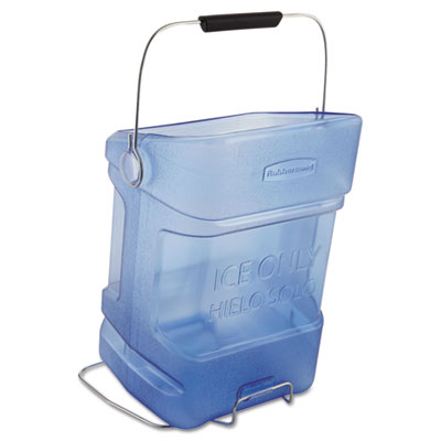 Rubbermaid Commercial Ice Tote, 5.5gal, Blue