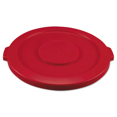 Rubbermaid Commercial Round Brute Flat Top Lid, 22 1/4 x