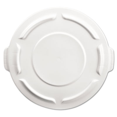 Rubbermaid Commercial Round Brute Flat Top Lid, 19 7/8 x