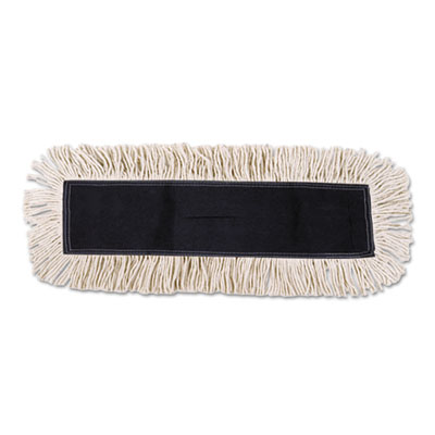 UNISAN Disposable Dust Mop Head w/Sewn Fringe,