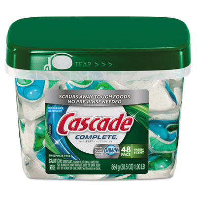 Cascade ActionPacs, Dishwashing Pods, Dawn Fresh