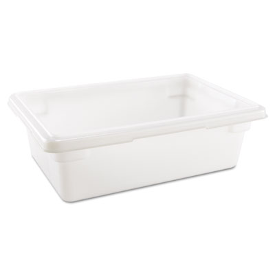 Rubbermaid Commercial Food/Tote Boxes, 3.5gal, 18w