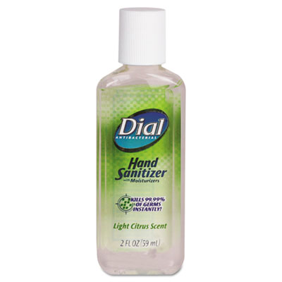 Dial Scented Antibacterial Gel Sanitizer with