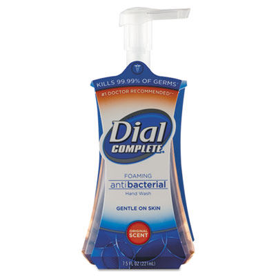 Dial Complete Foaming Hand Wash, Unscented Liquid, 7.5