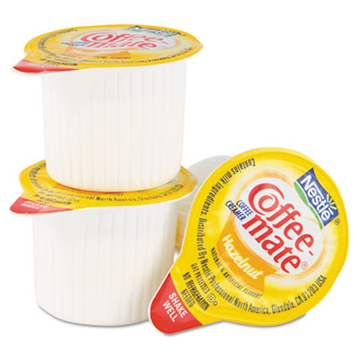 Coffee-mate Hazelnut Creamer, .375 oz., 50 Creamers/Box