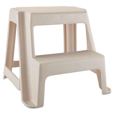 Rubbermaid Two-Step Stool, 18 9/10l x 18 2/5w x 18 4/5h,
