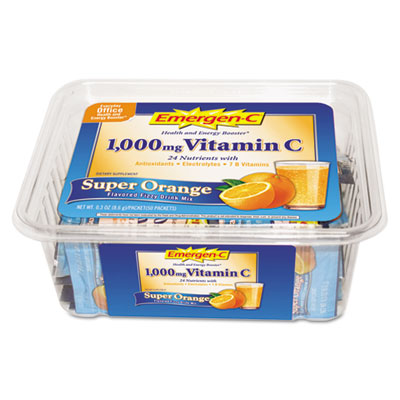Emergen-C Immune Defense Drink Mix, Super Orange, 0.3