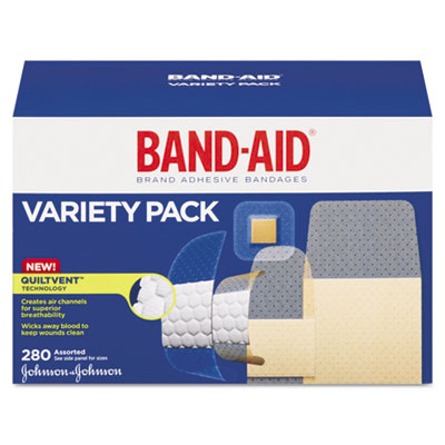 BAND-AID Sheer/Wet Adhesive Bandages, Assorted Sizes