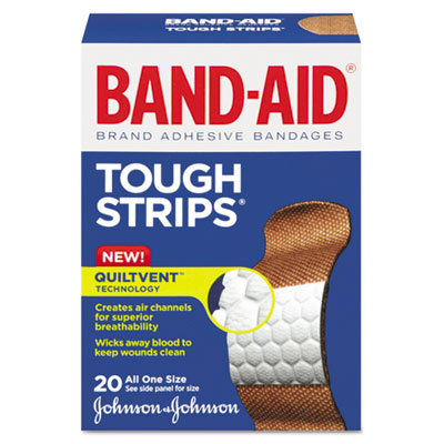 BAND-AID Flexible Fabric Adhesive Tough Strip