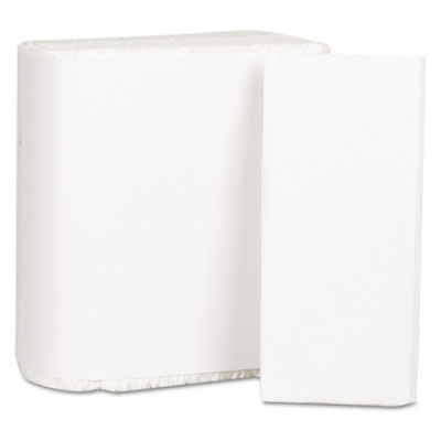 Georgia Pacific Professional Dinner Napkins, 1-Ply, White,