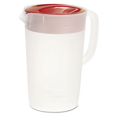 Rubbermaid Commercial VPlastic Pitcher, One Gallon,