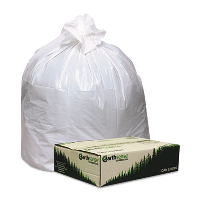 Earthsense Commercial Recycled Tall Kitchen Bags,
