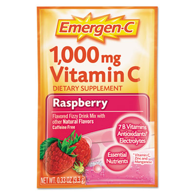 Emergen-C Immune Defense Drink Mix, Raspberry, 0.3 oz