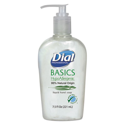 Dial Basics Liquid Hand Soap, 7.5 oz, Honeysuckle