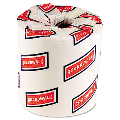 Boardwalk Bath Tissue, Two-Ply, White