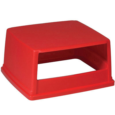 Rubbermaid Commercial Glutton Hood-Top Receptacle Lid, 26