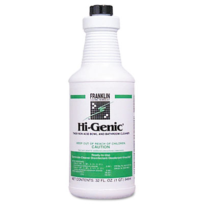 Franklin Cleaning Technology Hi-Genic Non-Acid Bowl &