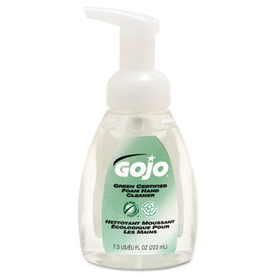 GOJO Green Certified Foam Soap, Fragrance-Free, Clear,