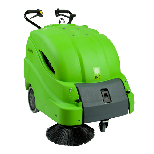 "IPC Eagle 28"" Battery Sweeper w/On-board Charger, 145 ah"