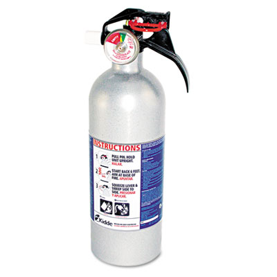 Kidde FX511 Automobile Fire Extinguisher, 5-B:C, 100psi,