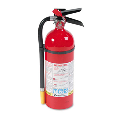Kidde ProLine Pro 5 MP Fire Extinguisher, 3-A,40-B:C,