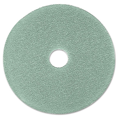 "3M Burnish Floor Pad 3100, 19"", Aqua"