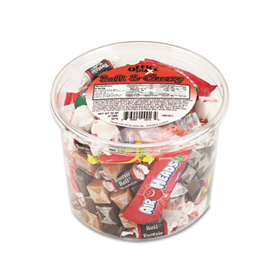 Office Snax Soft & Chewy Mix, Assorted Soft Candy, 2lb