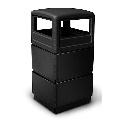 38-Gallon 3-tier Waste Container with Dome Lid