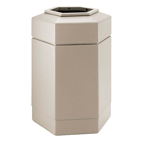 30-gallon Hex Waste Container