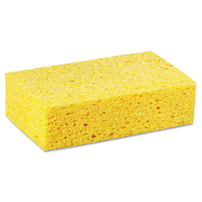 Premiere Pads Large Cellulose Sponge, 4.27 x 7.8, Yellow
