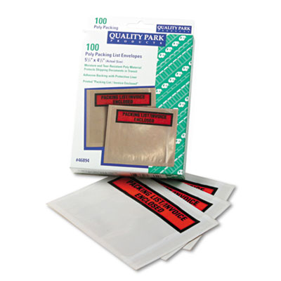 Quality Park Top-Print Self-Adhesive Packing List