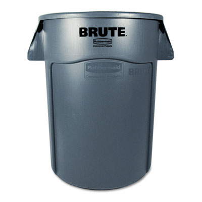 Rubbermaid Commercial Brute Vented Trash Receptacle,