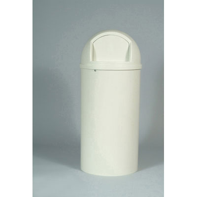 Rubbermaid Commercial Marshal Classic Container, Round,