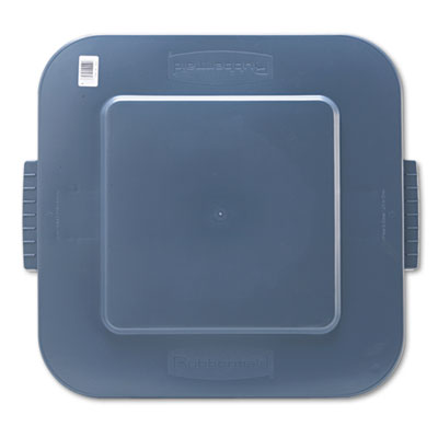 "Rubbermaid Commercial Square Brute Lid, 26 x 24 x 2 1/5"","