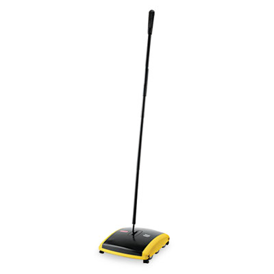 Rubbermaid Commercial Dual Action Sweeper, Nylon