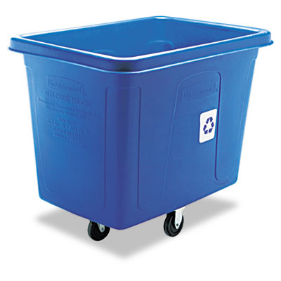 Rubbermaid Commercial Recycling Cube Truck,