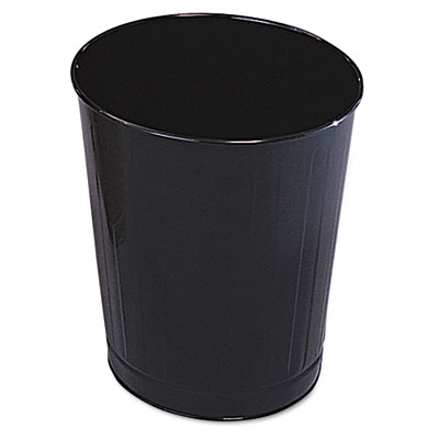 Rubbermaid Commercial Fire-Safe Wastebasket, Round,