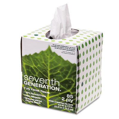 Seventh Generation 100% Recycled Facial Tissue,