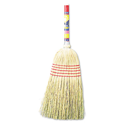 "UNISAN Maid Broom, Mixed Fiber Bristles, 42"" Wood"
