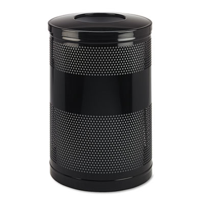 Rubbermaid Commercial Classics Perforated Open Top
