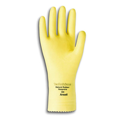 AnsellPro Technicians Latex/Neoprene Blend Gloves,