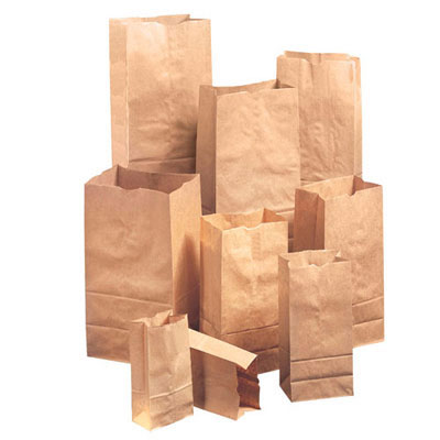 General 1/5-40#, Paper Bag, 40-Pound Base Weight, Brown