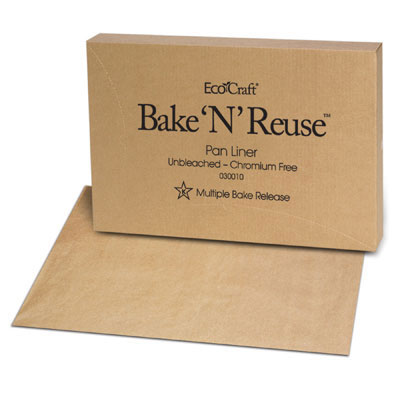 Bagcraft Papercon EcoCraft Bake 'N' Reuse Pan Liner, 16